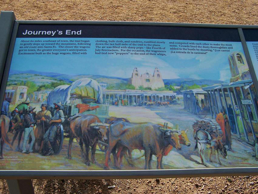 an analysis of the santa fe trail in the united states United states  texas (tx) dallas  things to do in dallas  santa fe trail  the santa fe trail is a 45 mile long paved path on the east side of dallas .